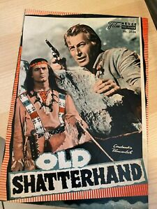 Neues Film Programm Nr. 3526 - Karl May - Old Shatterhand - ungelocht
