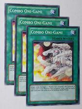 Set 3X   COMBO ONI-GAMI  GENF-IT060 Comune in Italiano YUGIOH