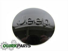 12-17 Jeep Patriot Compass Grand Cherokee Wrangler 54MM BLACK CENTER CAP MOPAR