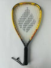 Ektelon Racquetball Racquet Powerfan Nitro 900 Power Level Yellow Red