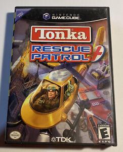 TONKA RESCUE PATROL (Nintendo GameCube) Case , Manual CIB