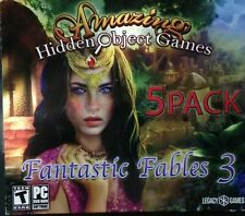 Fantastic Fables 3, PC Game, 5 Pack, 2017, New, Amazing Hidden Object Games