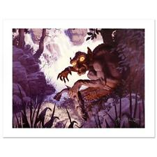 The Lord of the Rings Gollum   Greg Hildebrandt Canvas Limited Edition  Tolkien