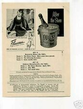 Cook's Imperial Champagne Flexees Original Vintage Ad