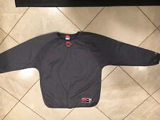 Rawlings Cincinnati Reds Gray Jersey Size L Mens Long Sleeve