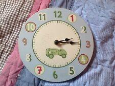 Boys decor car clock