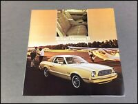 1976 FORD MUSTANG II COBRA II NEW CORRECT FACTORY OWNERS OPERATORS MANUAL NICE
