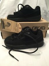 Genuine C1rca Adrian Lopez Kids Black Suede Children Skate Shoes UK Size 13 BNIB