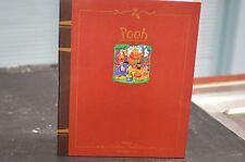 VINTAGE DISNEY WINNIE THE POOH STORYBOOK ORNAMENT SET NEW WITH BOX