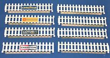 1:32 Scale Vintage Fence Panels Kit - for Scalextric/Other Static Layouts