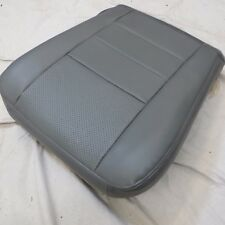 03 07 Ford F 250 350 LARIAT Passenger Bottom perforated Leather Seat cover GRAY