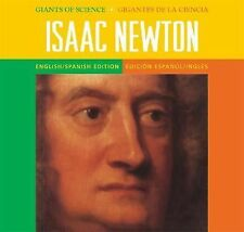 Giants of Science/Gigantes de Ciencia - Bilingual - Isaac Newton-ExLibrary