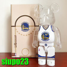 Medicom 400% Bearbrick ~ Milk Magazine x NBA Golden State Warriors Be@rbrick