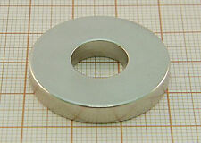 5 Neodymium Magnets RING Disc Cylinder 30mm x 5mm / 12mm hole / N38 30 x 5 x 12