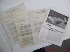 c.1933 Fairbanks Morse 10-Ton Wagon Scale Catalog Brochure Sales Letter Lot F&M
