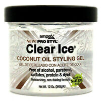 Ampro Clear Ice Coconut Oil Styling Gel 340g