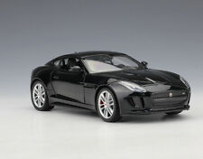 Welly 1:24 JAGUAR F-Type Coupe Diecast Model Car Vehicle Black Mint in Box