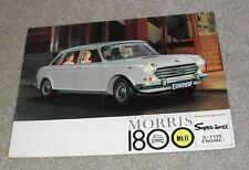 * Morris 1800 Mk2 Brochure 1968 *