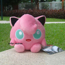 "Cute Jigglypuff Nintendo Pokemon Center Go Plush Toy Stuffed Animal Soft Doll 5"""