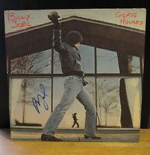 BILLY JOEL (1980) GLASS HOUSES SIGNED, COLUMBIA LP, ALBUM IN RARE V.G. SLEEVE