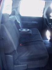 2007 08 09 2010 11 2013 Chevy Silverado/GMC Sierra Crew Cab Rear Seat Cover GRAY