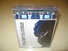 Transformers DVD 2disc Limited Optimus Prime Robot Case+28pg Comic OOP RARE NEW