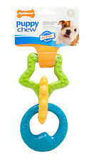 Nylabone Just For Puppies Ring Bone Puppy Dog Teething Chew Toy  Free Shipping