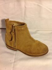 Girls Next Brown Suede Boots Size 10