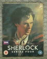 Zavvi Exclusive Sherlock Series 4 Blu Ray Steelbook Brand New! HTF