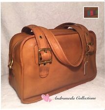 Vintage COACH Bonnie Cashin Original Flight Bag, Saddle, Made in New York City
