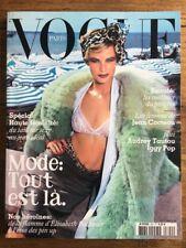 VOGUE PARIS 840 Sept 2003 Carolyn MURPHY Audrey TAUTOU Iggy POP Valie EXPORT