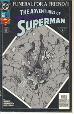DC - #498 - Jan 93 - The Adventures of Superman - 3.0 - Very Used