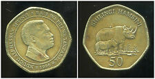 TANZANIE  50  shilingi   1996  ANM