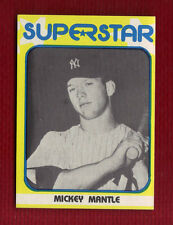 MICKEY MANTLE 1982 SUPERSTAR 1st Series #32 New York Yankees Only One on eBay