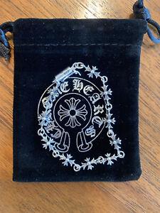 Chrome Hearts Tiny E Bracelet (17cm length)