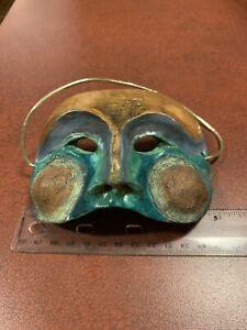 Robert Shields Designs Venetian Masquerade Blush Cheeks Clay Decorative Mask
