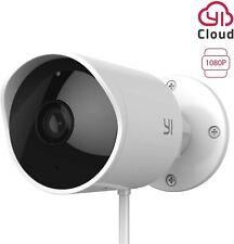 Yi Cámara al aire libre 1080p WIFI Cámara IP de vigilancia de seguridad para el hogar Impermeable