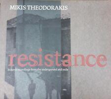 THEODORAKIS:RESISTANCE CD Neuwertig