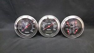 1949 1950 PLYMOUTH DASH CLUSTER BLACK