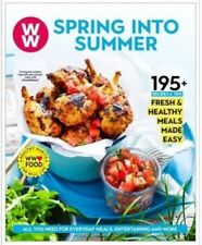Weight Watchers SPRING INTO SUMMER 195 Recipes & Tips Weight loss Cookbook NEW
