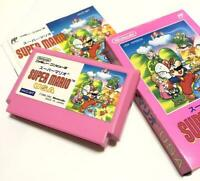 Super Mario USA Nintendo Famicom FC Used Japan Free Shipping