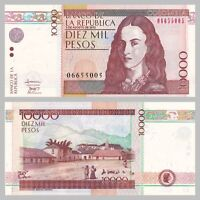 Kolumbien / Colombia 10000 Pesos 3 Aug 2010 p453 unz.