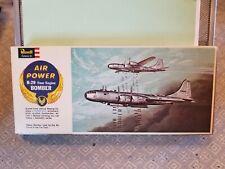 Vintage 1961 Revell Air Power H-141:98 B-29 Bomber 1:133 Rare