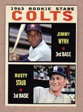 Jimmy Wynn & Rusty Staub '63 Houston Colt .45s rookie stars Pastime series #15