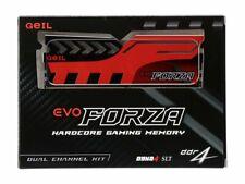 GeIL EVO FORZA 32GB 2 x 16GB 288-Pin DDR4 2400 Desktop Memory GFR432GB2400C16D
