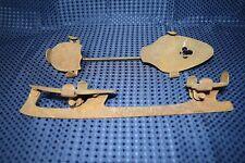 "Antique Ice Skates Shoe Blades 13"" Blade Vintage Decoration Pieces"
