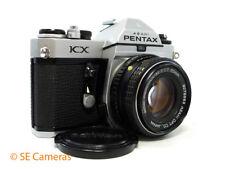 PENTAX KX 35MM SLR CAMERA + SMC PENTAX-M 50MM F1.7 LENS EXCELLENT CONDITION
