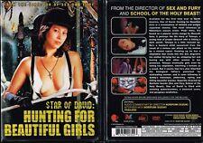 Star of David Hunting For Beautiful Girls New DVD Horror Norifumi Suzuki Unrated