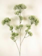 6x Artificial Greenery Green Japanese Pine Sprays Stems for Flower Arrangements