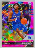 Tyrese Maxey RC 2020-21 Prizm Draft Picks Pink Cracked Ice 76ers Rookie Card #54